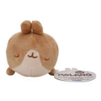 Brown Molang's Friend Sleeping Plushie 10 cm