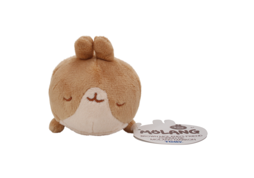 Molang Brown Molang's Friend Sleeping Plushie