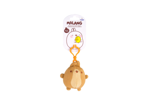 Molang Brown Molang's Friend Clip Plush