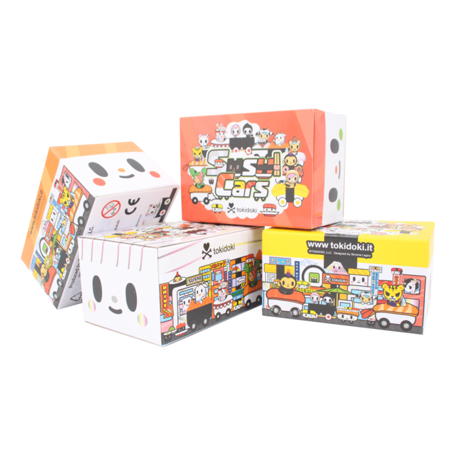 Tokidoki Sushi Cars series blind box - Random