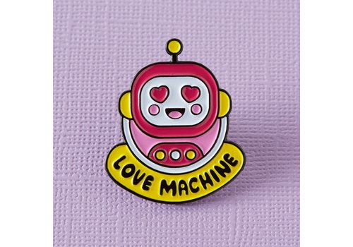 Punky Pins Pin - Love Machine