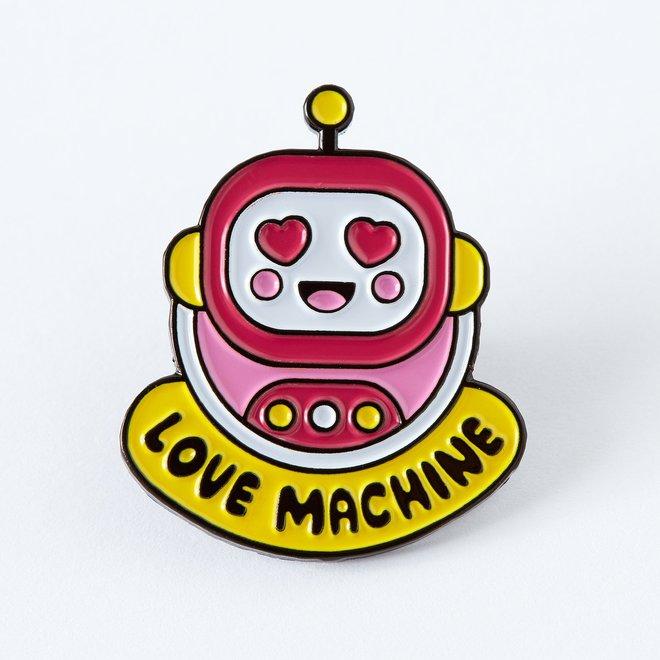 Punky Pins enamel Pin -  Love Machine