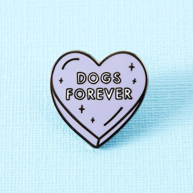 Punky Pins emaille Pin - Dogs Forever