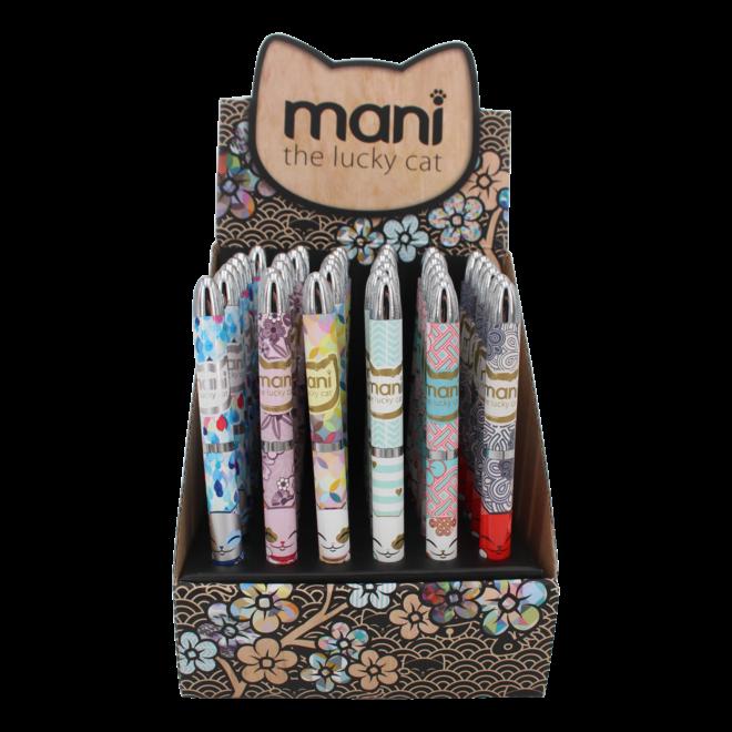 Mani the Lucky Cat  - Balpen (diverse)