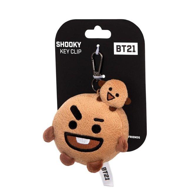 BT21 SHOOKY key clip 8 cm