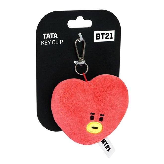 BT21 TATA key clip 9 cm