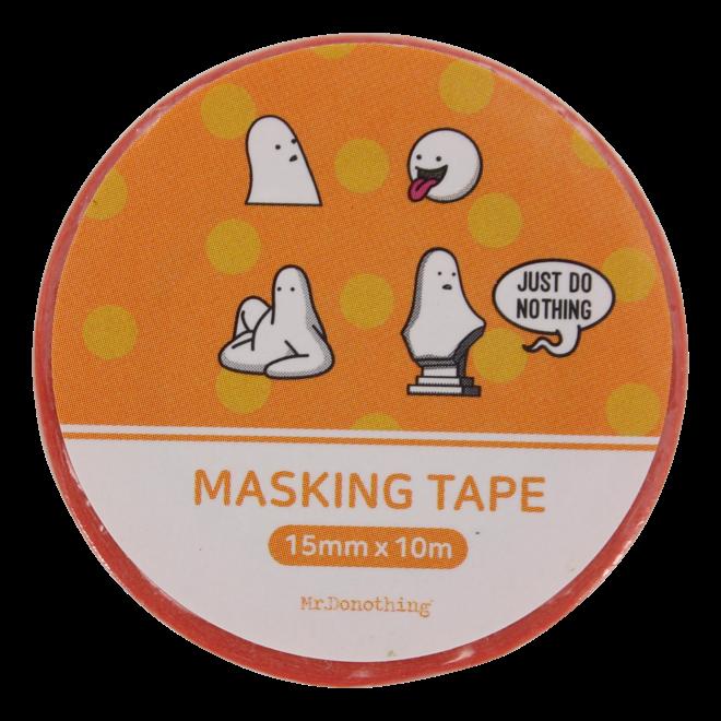 Mr.Donothing Masking / washi tape -Orange