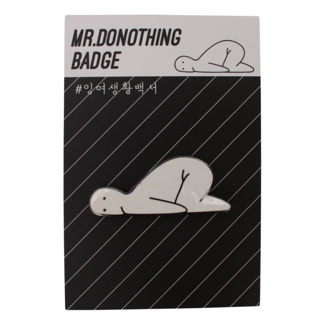 Mr.Donothing pin - Lazy
