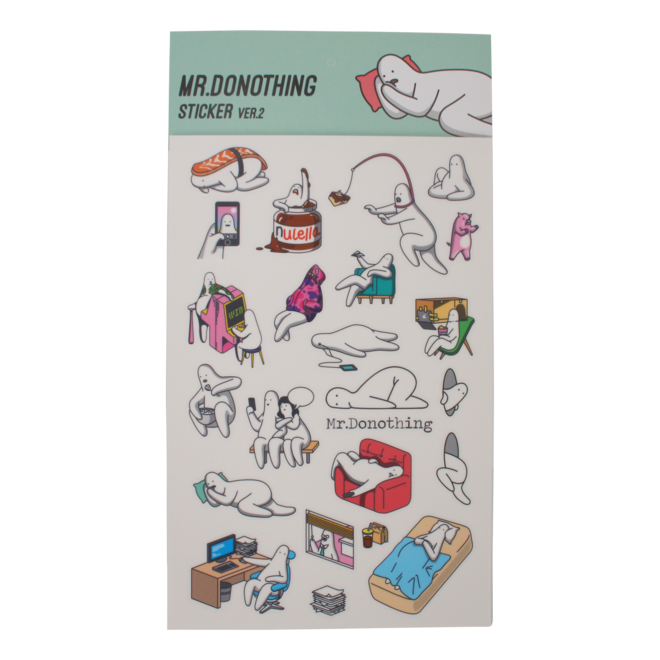 Mr.Donothing sticker sheet 2