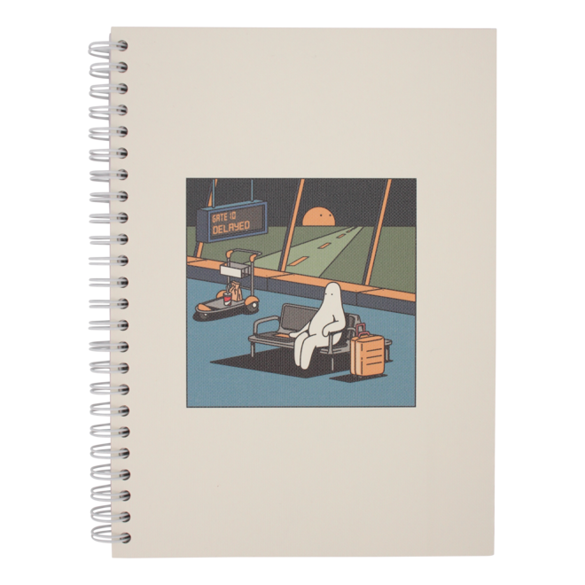 Mr.Donothing notebook - Airport