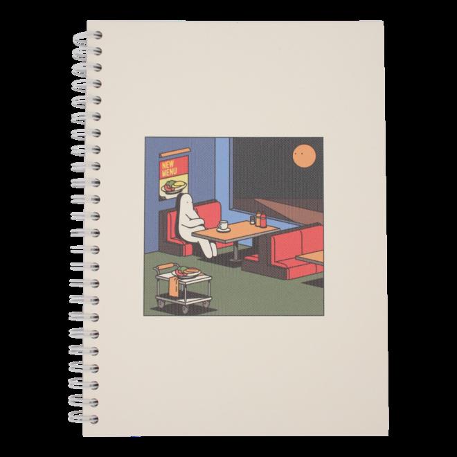 Mr.Donothing notebook - Restaurant