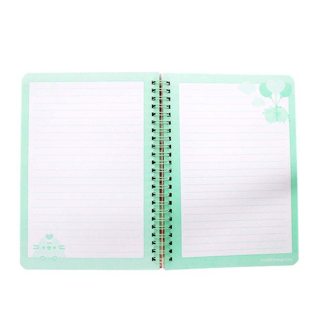 Pusheen A5 notebook with sticker sheet