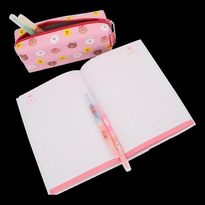 Line Friends pluche notitieboek Cony