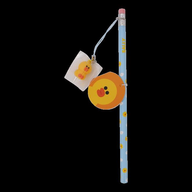Line Friends potlood met hanger
