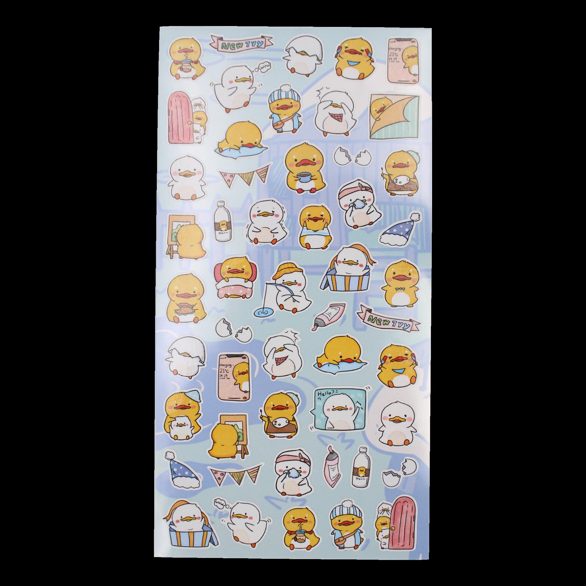 Duck Nekoni Stickers