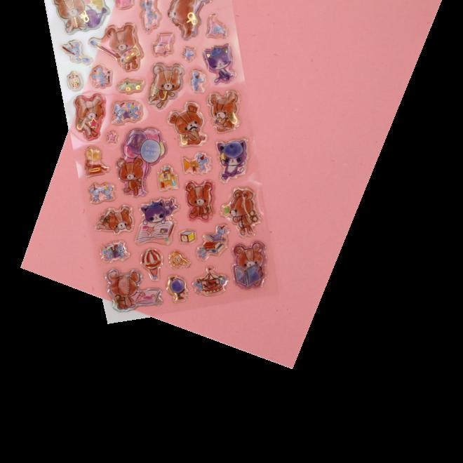 Clockwork Truffe puffy stickers
