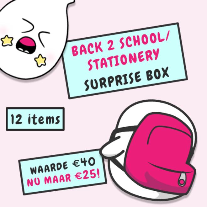 Surprise box - Back 2 school/stationery (worth € 40,-)