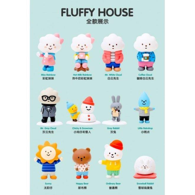 POP MART Fluffy House serie 2 (Winter) blind box