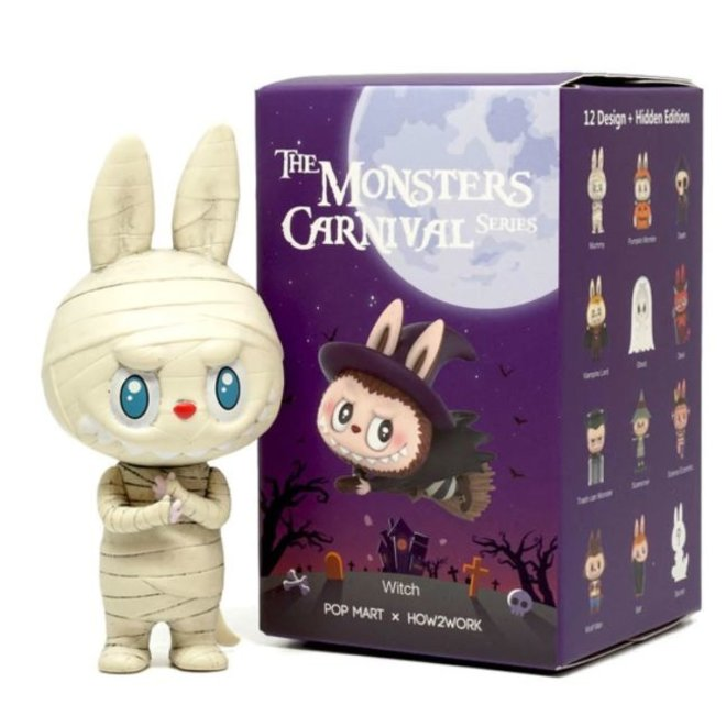 POP MART LABUBU (The Monsters Carnival) blind box