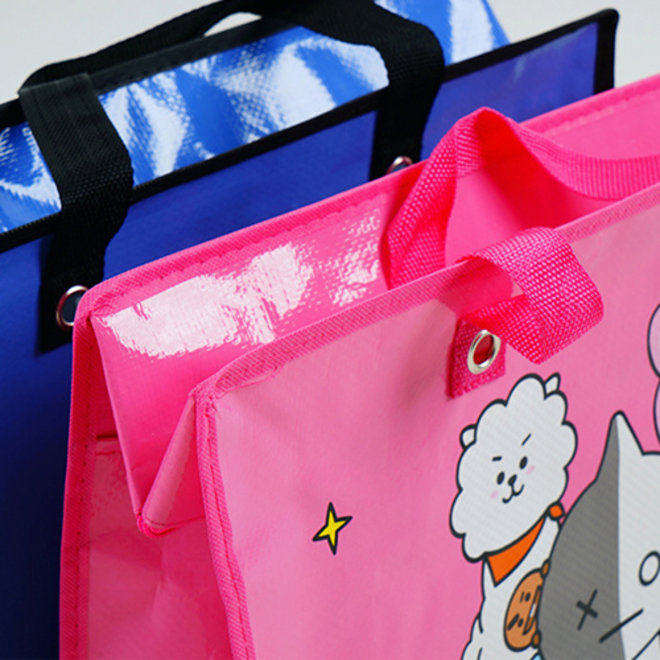BT21 Shopper Large - Blauw