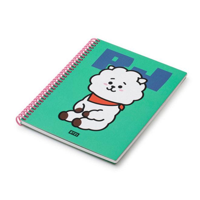 BT21 Heart A5 Spring Notebook - RJ