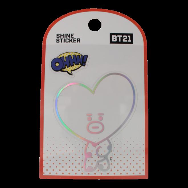 BT21 Shine sticker - TATA
