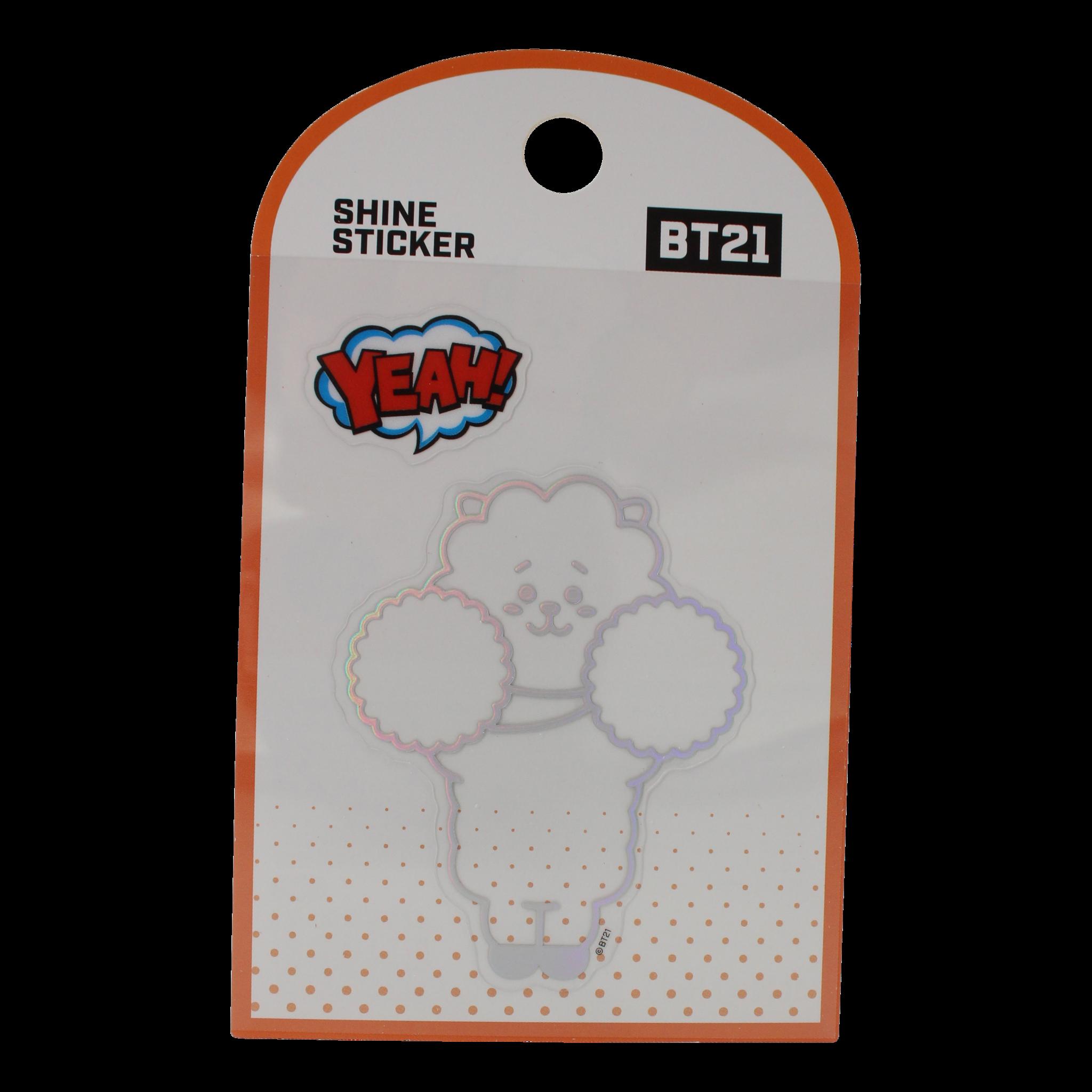 BT21 BT21 Shine sticker - RJ