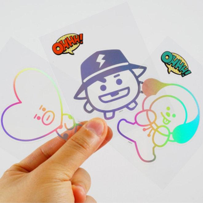 BT21 Shine sticker - RJ