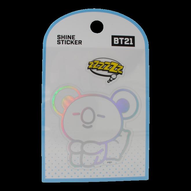 BT21 Shine sticker - KOYA