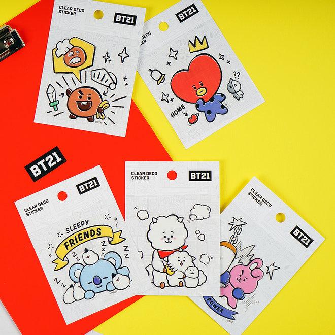 BT21 Deco sticker - SHOOKY