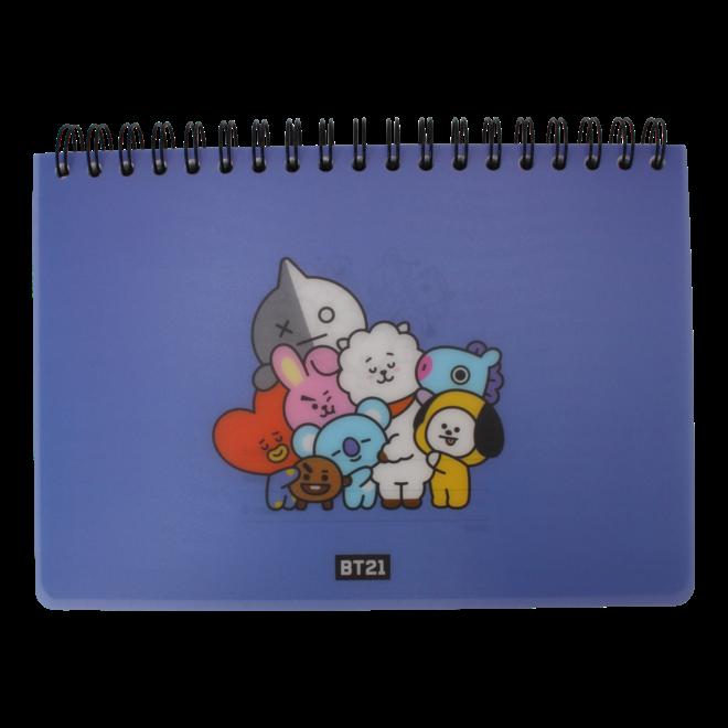 BT21 Schetsboek - Blauw