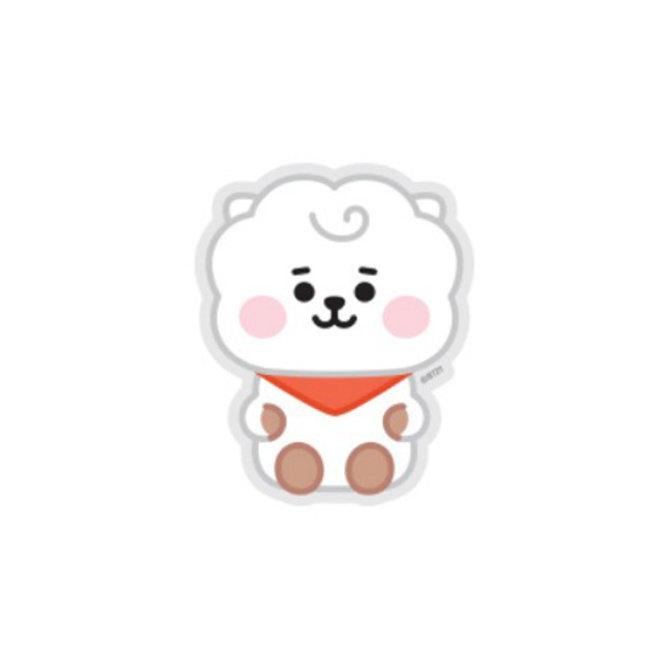 BT21 Baby Sticker - RJ (Zittend)