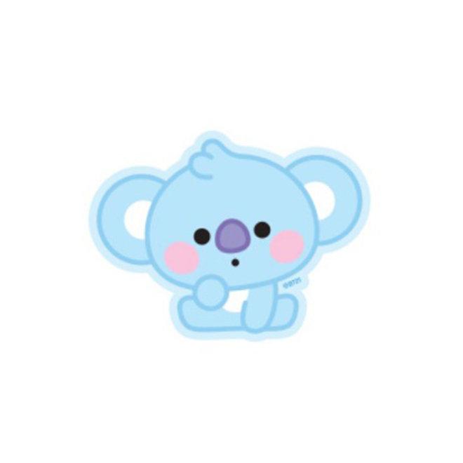 BT21 Baby Sticker - KOYA (Zittend)