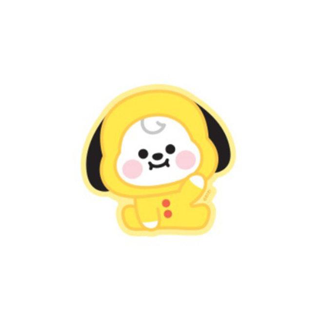 BT21 Baby Sticker - CHIMMY (Zittend)
