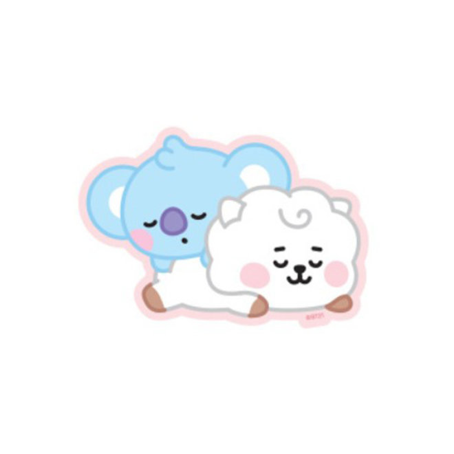 BT21 Baby Sticker - KOYA & RJ