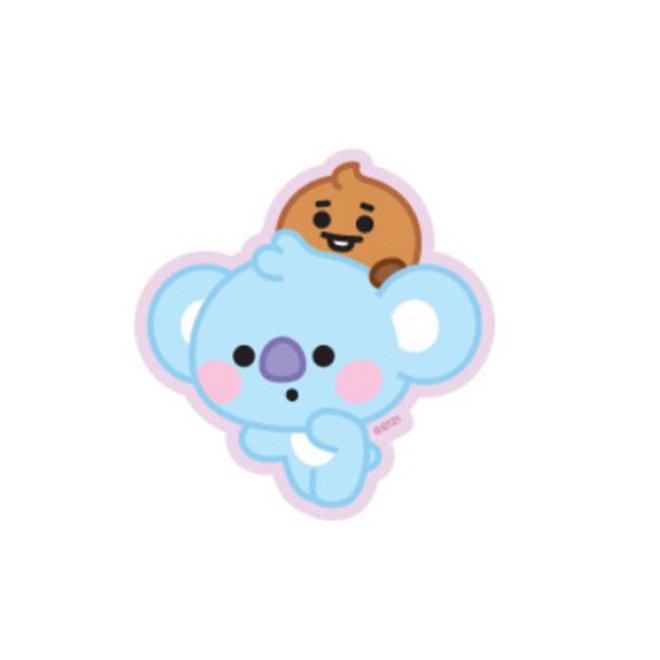 BT21 Baby Sticker - KOYA & SHOOKY