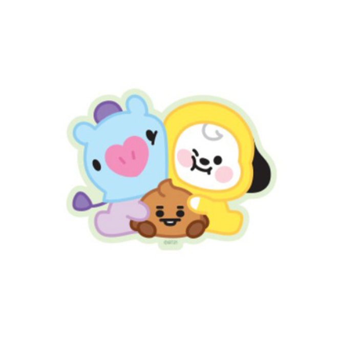 BT21 Baby Sticker - CHIMMY, MANG & SHOOKY