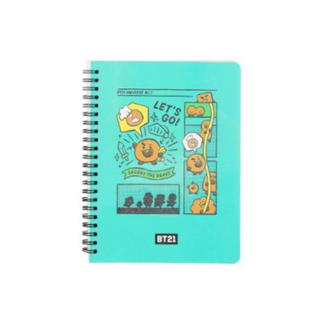 BT21 Notebook - SHOOKY