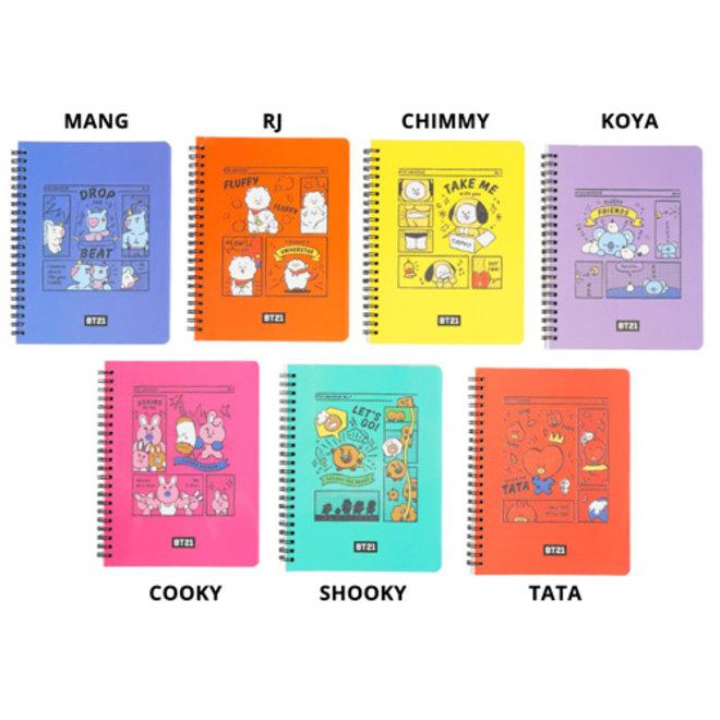 BT21 Notebook - TATA