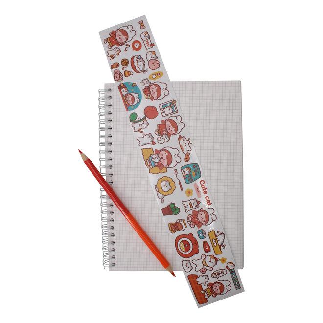 Kawaii LIfe masking tape (various)