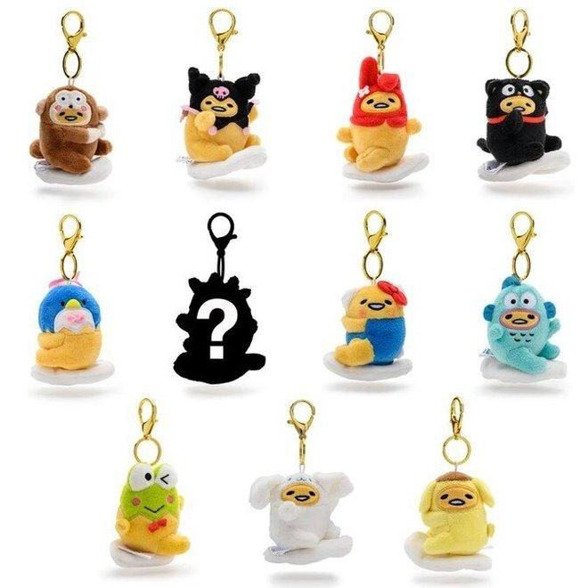 Gudetama plush charm key chain - blind box