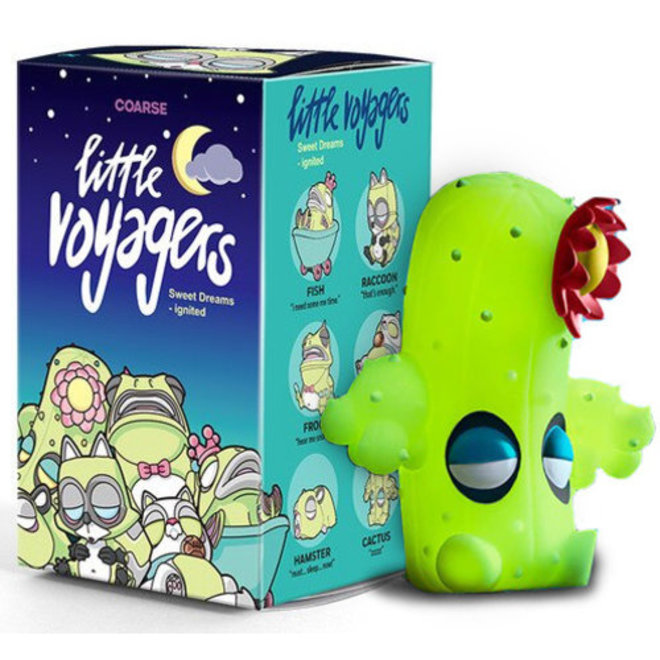 POP MART Coarse Little Voyagers blind box
