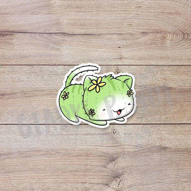 CutieSquad Sticker set - Cactus Cats