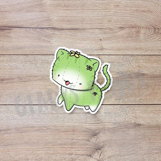 CutieSquad Stickerset - Cactus Cats