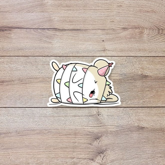 CutieSquad Sticker set - Birthday Hamsters