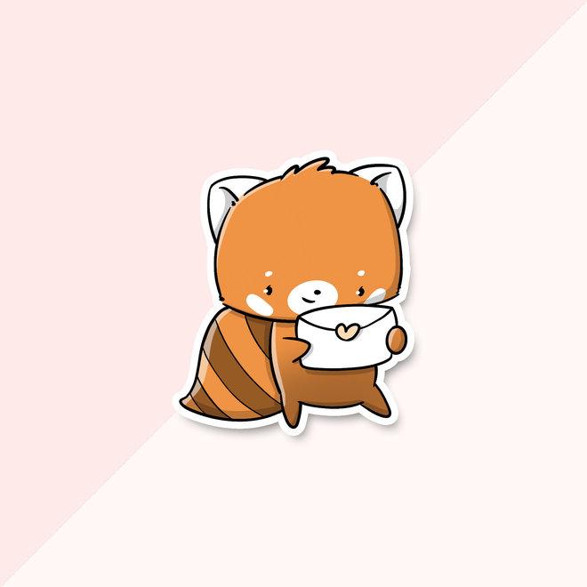 CutieSquad Sticker set - Kawaii Red Pandas