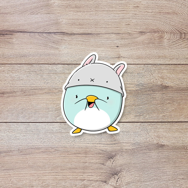 CutieSquad Stickerset - Kawaii Penguins