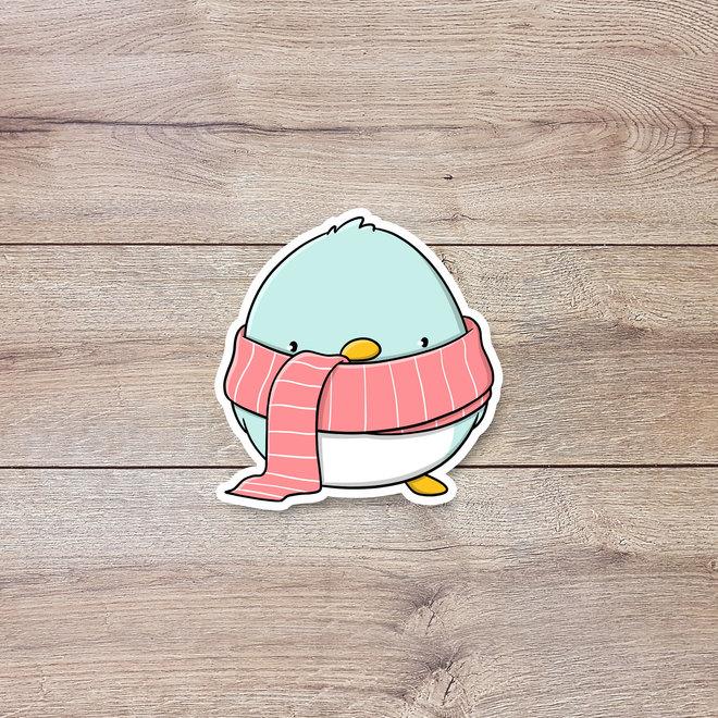 CutieSquad Sticker set - Kawaii Penguins