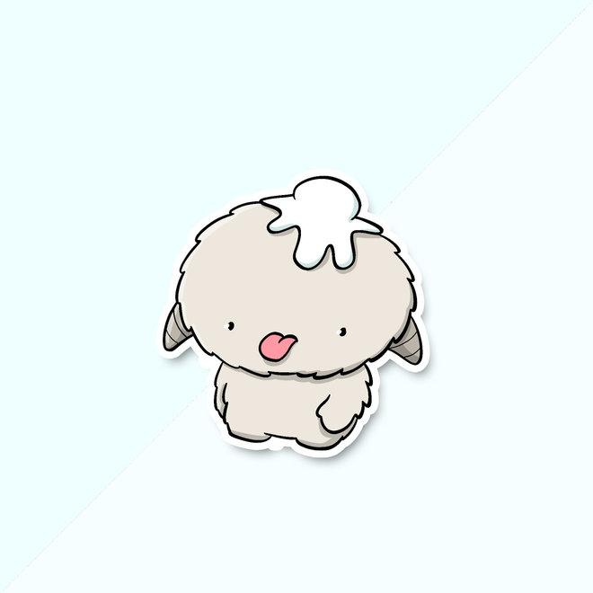 CutieSquad Stickerset - Kawaii Yeti