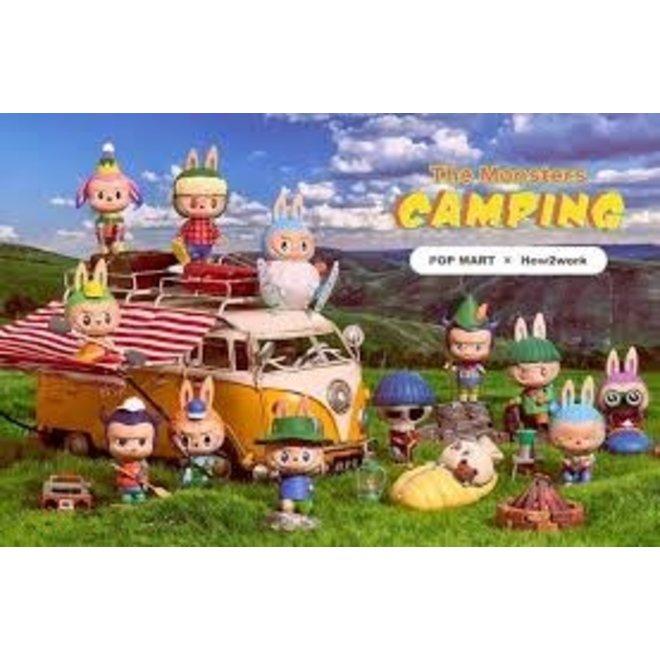 POP MART Labubu The Monsters Camping